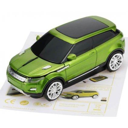 Optická myš k PC zelená SUV