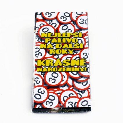 Čokoláda – Všetko najlepšie 30