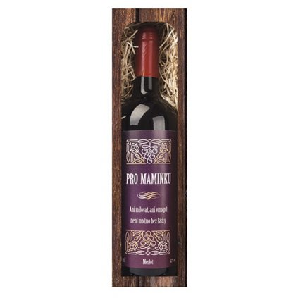 Darčekové víno mamičke – červené