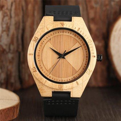 Drevené hodinky Damien