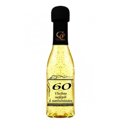 Šumivé víno se zlatem - 60 let