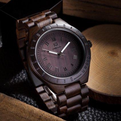 Dřevěné hodinky Jacques