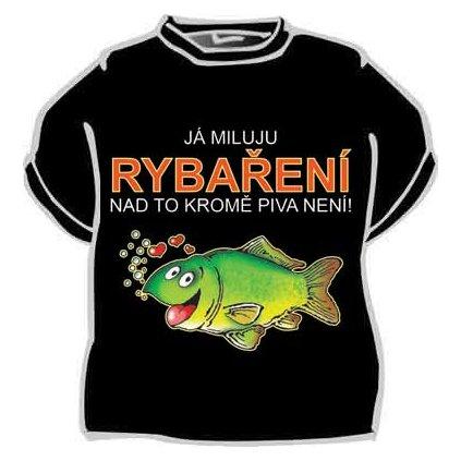 Tričko - Já miluju rybaření - vel. XL