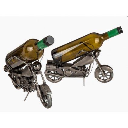Stojan na víno motorka