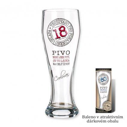 Pivný pohár 18