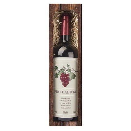 Darčekové víno pre babičku