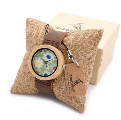 Drevené hodinky Florence