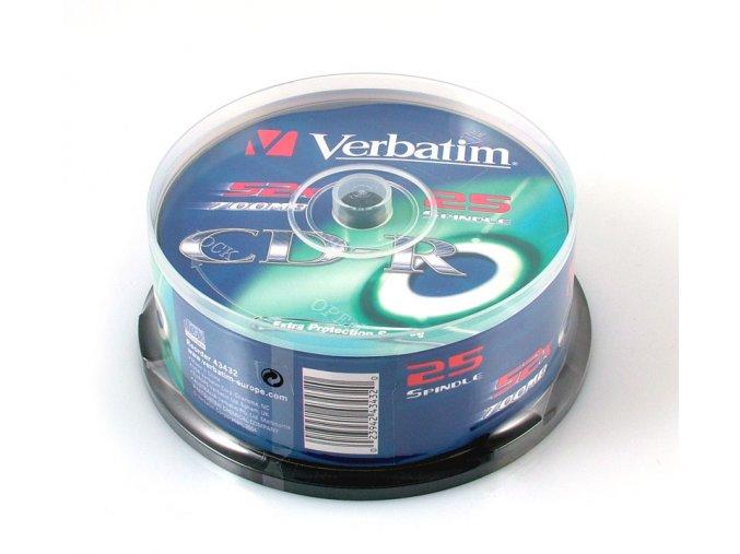 Verbatim CD-R EP 25 cake