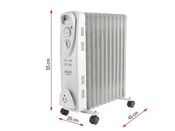 Olejový radiátor Adler AD7809 11ž