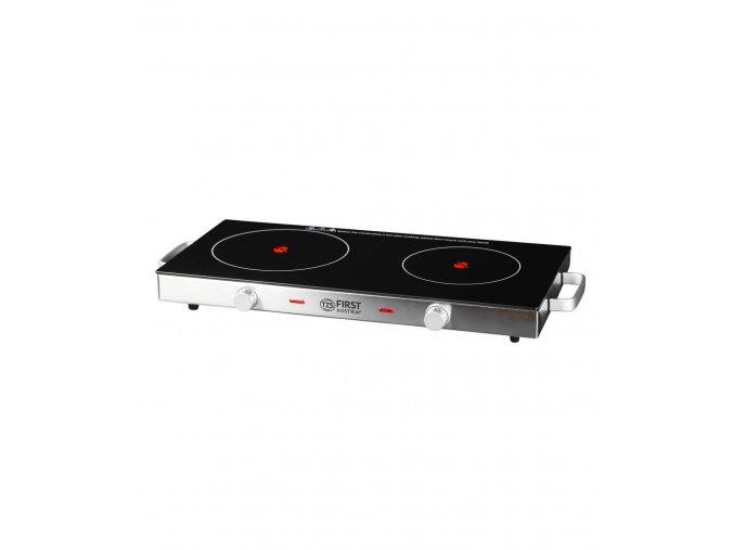 Sklokeramický dvouplotýnkový vařič FA5096-7