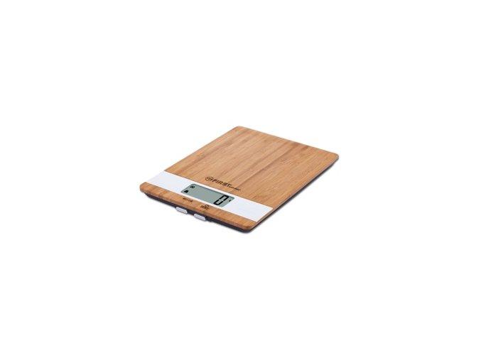 Dřevěná kuchyňská váha First FA6410