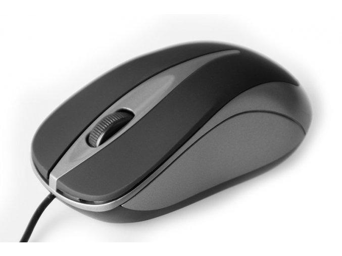 PC myš Media-Tech MT1091T titanium
