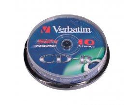 Verbatim CD-R EP 10 cake
