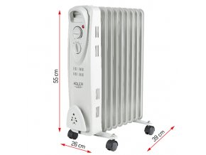 Olejový radiátor Adler AD7808 9ž