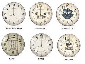 Nástěnné hodiny Esperanza