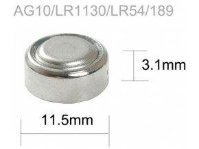 Baterie TINKO LR54 (AG10,LR1130,GP389)