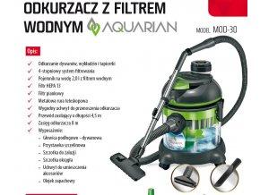 Vysavač s vodní filtrací MPM MOD30 AQUARIAN