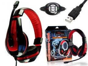 Herní sluchátka Media-tech MT3574 Nemesis