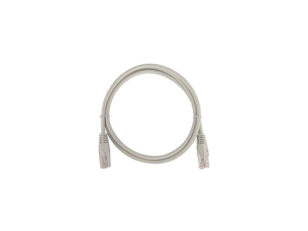 patch kabel utp rj45 rj45 cat5e 05m sedy