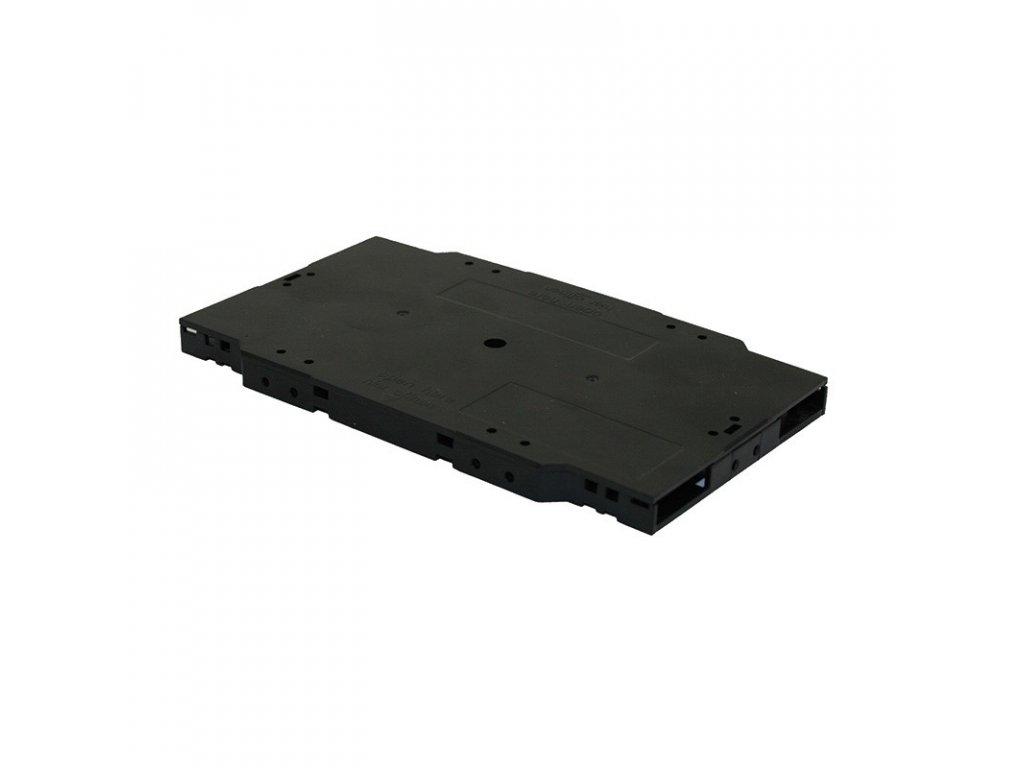 kfm 01 mala kazeta na svary 155x92x8mm drzaky pro 12 smrstovacich ochran vicko cerna