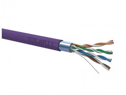 Instalační kabel Solarix CAT5E F/UTP LSOH Dca-s1,d2,a1 305m/box