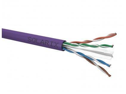 Instalační kabel Solarix CAT6 U/UTP LSOH  Dca-s2,d2,a1 305m/box