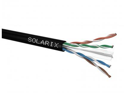 Instalační kabel Solarix CAT6 U/UTP PE  venkovní 500m/cívka