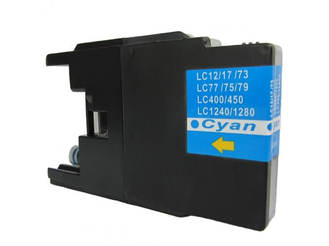 Brother LC-1280 C - kompatibilní cartridge