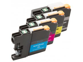 Brother LC-123 CMYK - kompatibilní multipack cartridge s čipem