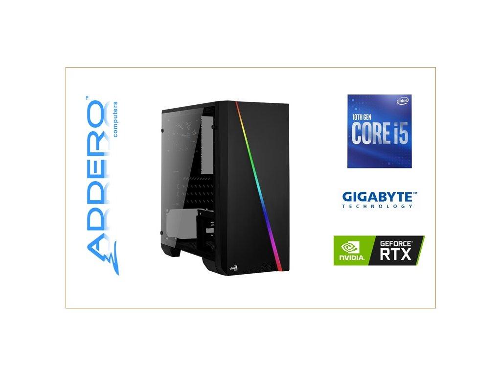 Aerocool Cylon + i5 10 + Gigabyte + RTX