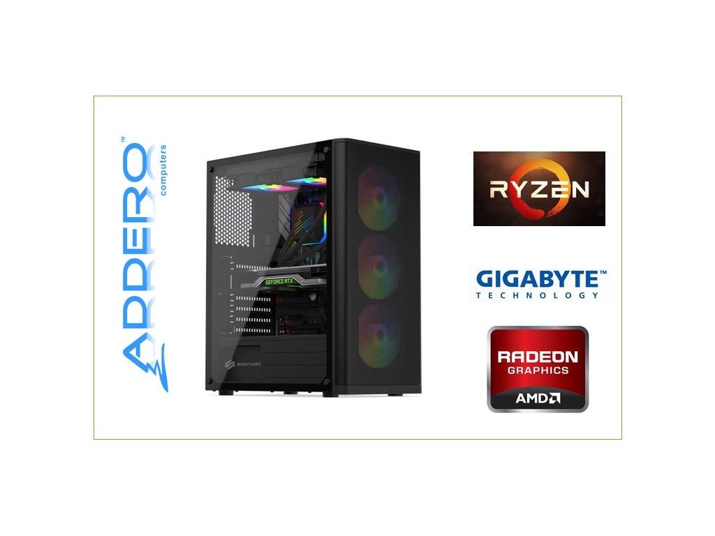 Aerocool Cylon + AMD R5 + ASRock + RX