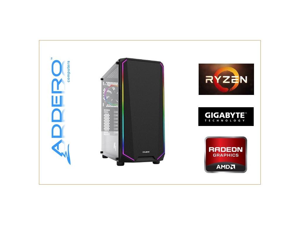 Aerocool Playa + AMD R5 + ASRock + RX