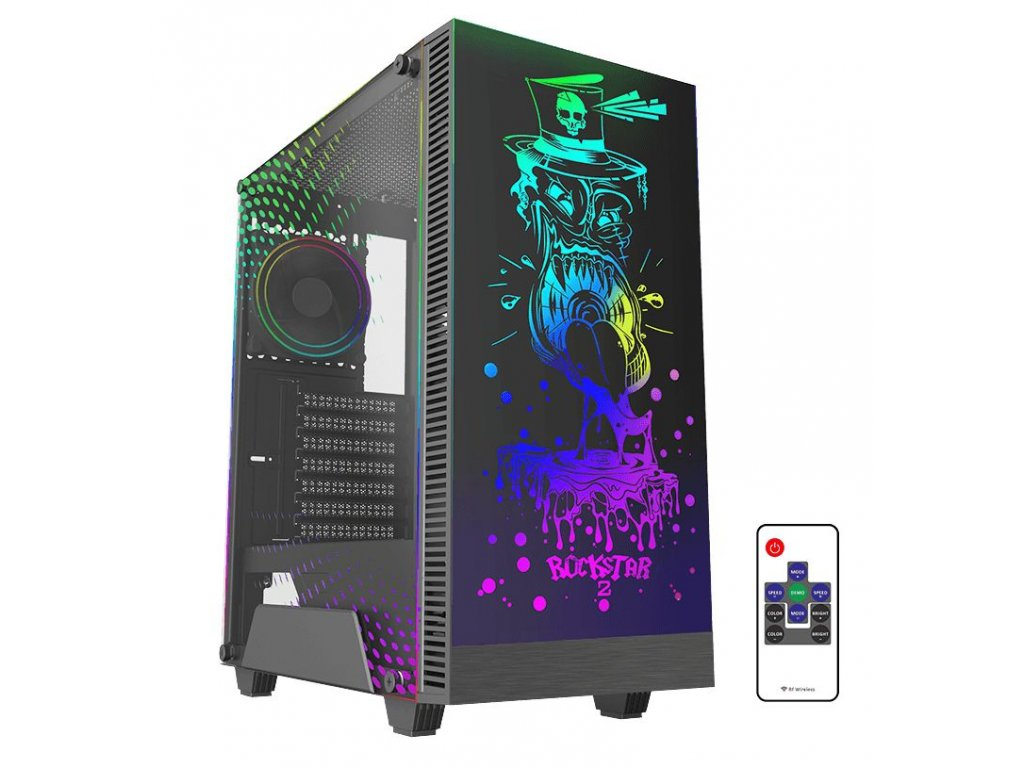 SilentiumPC Ventum VT2 EVO TG ARGB +AMD R7 + Gigabyte