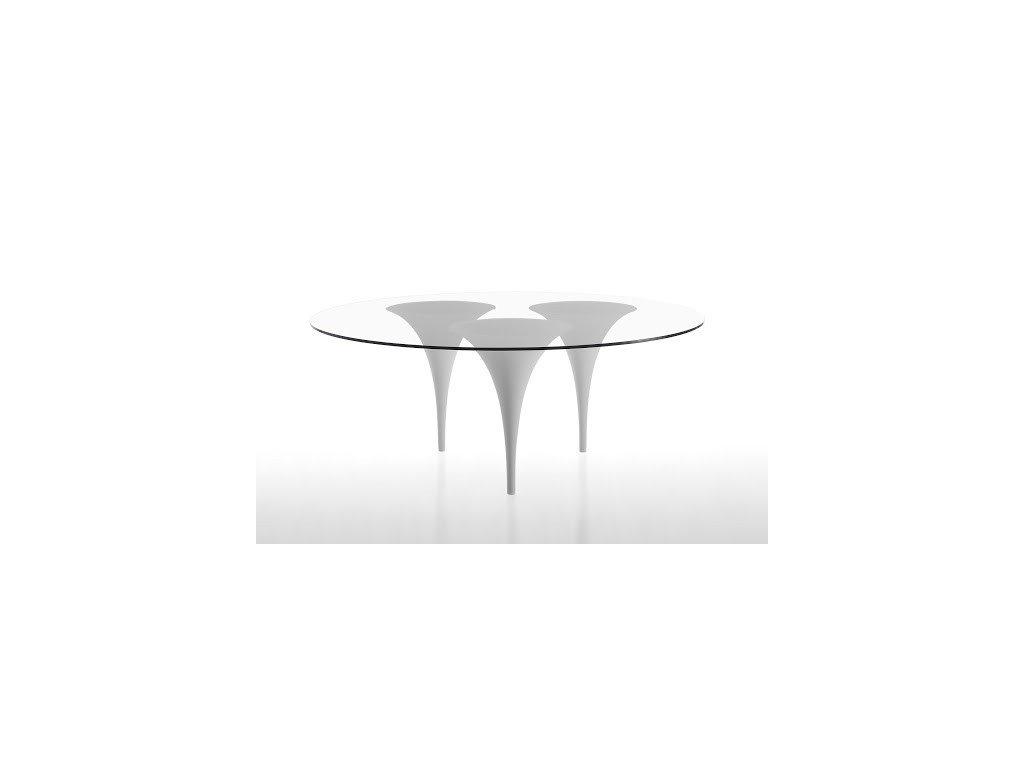 Luxusní kruhový stůl Brass pr. 140