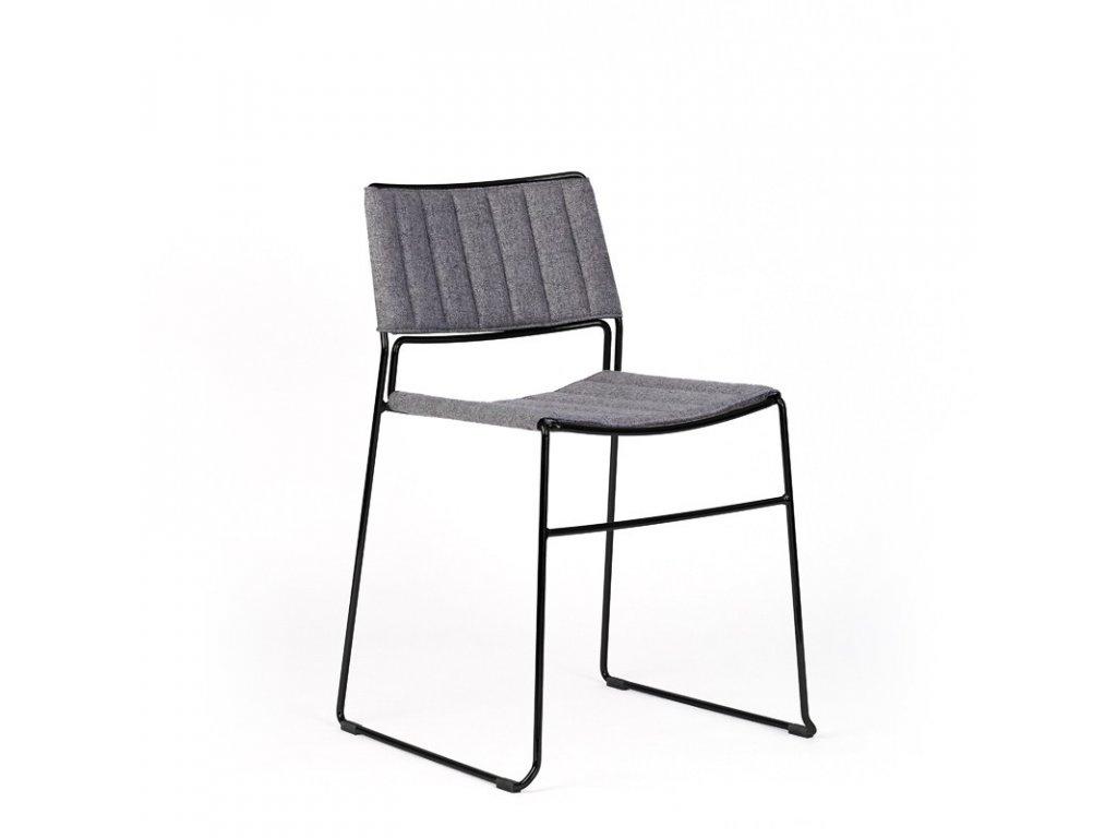 Moderní čalouněná židle Slim S M TS