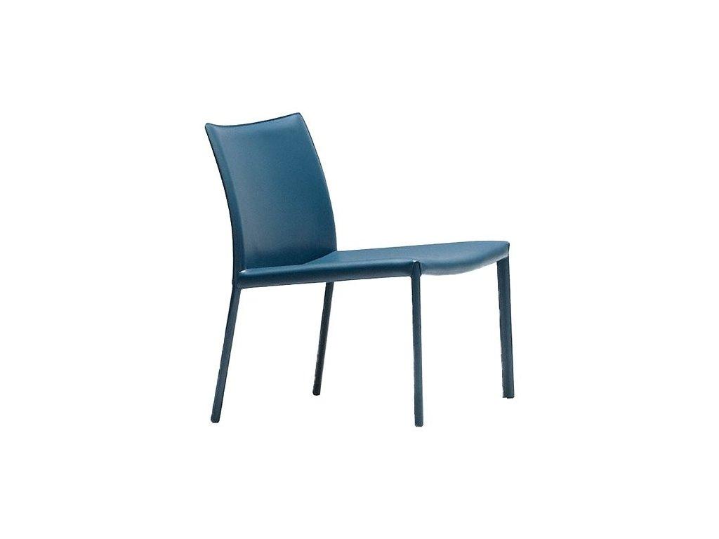 Moderní kožené lounge křeslo Nuvola AT R CU