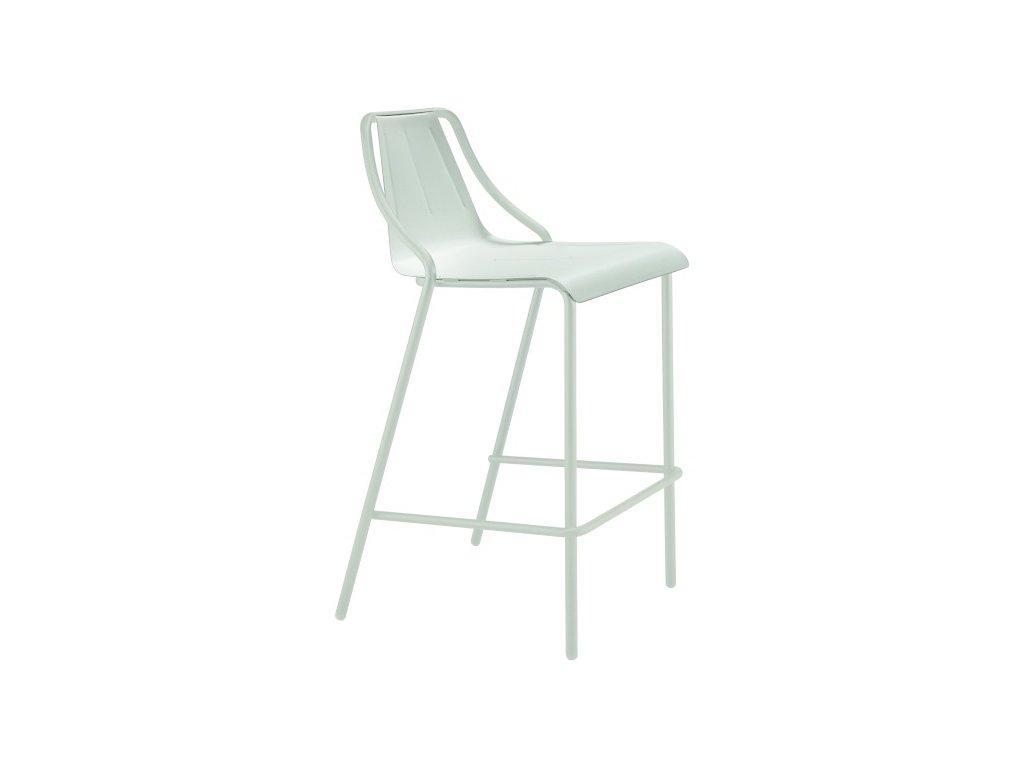 Kovová židle industriálního designu Ola