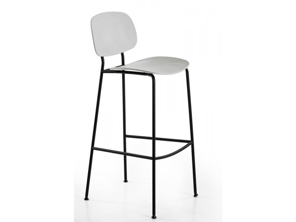 Moderní barová židle v retro stylu Tondina pop