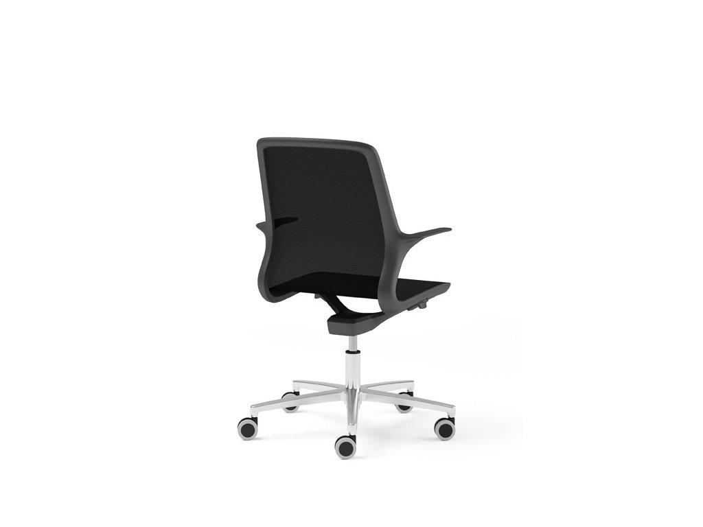 Moderní pracovní židle na kolečkách Grace