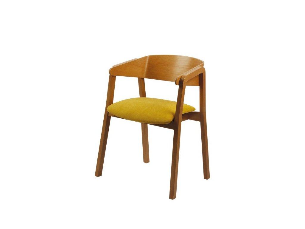 Moderní dřevěné křeslo Miriam