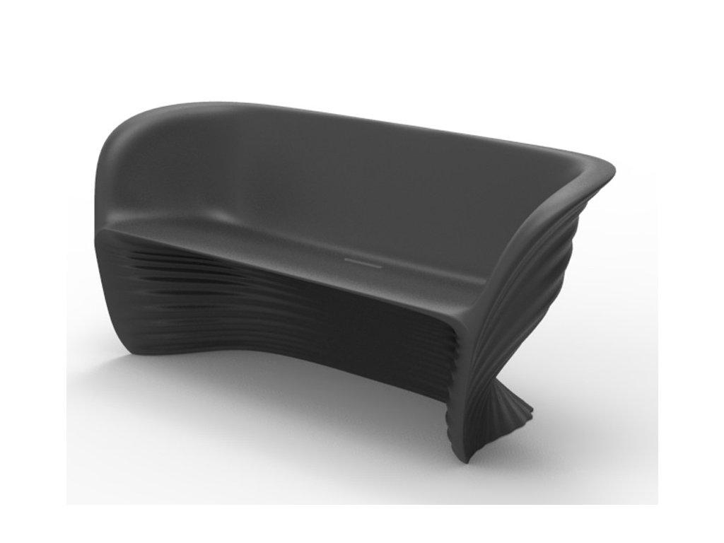 Stylová lavička, sofa Biophilia