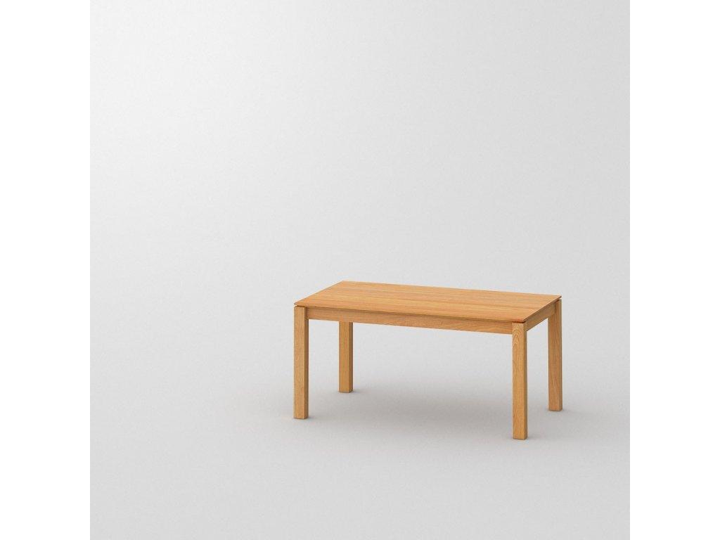 Rozkládací dřevění jídelní stůl Converto 140x90