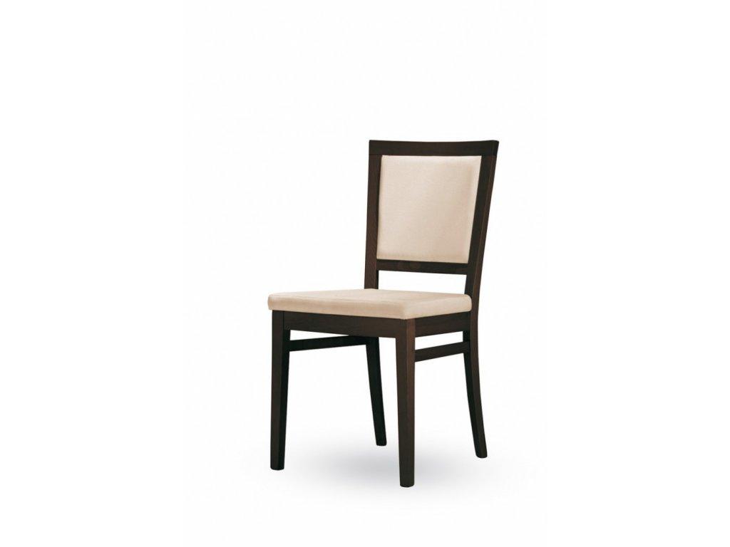 Dřevěná čalouněná jídelní židle Vanessa