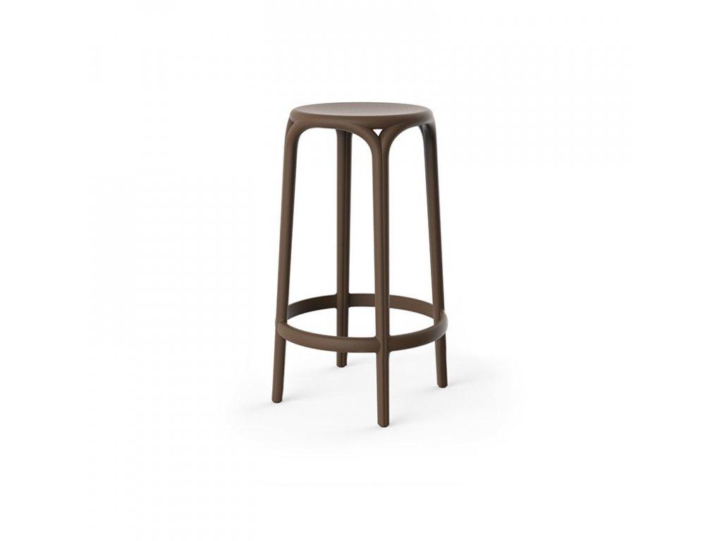 Moderní barová židle Brooklyn