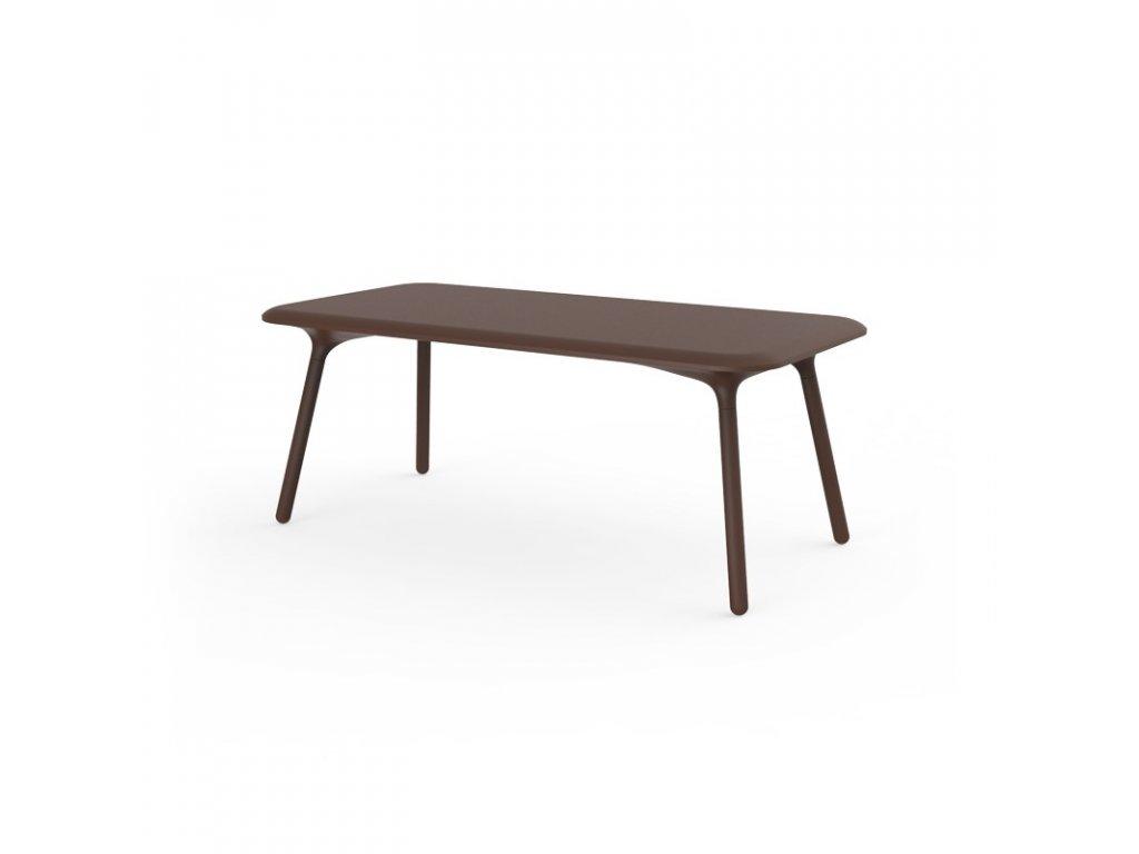 Moderní zahradní jídelní stůl Pal 180x90