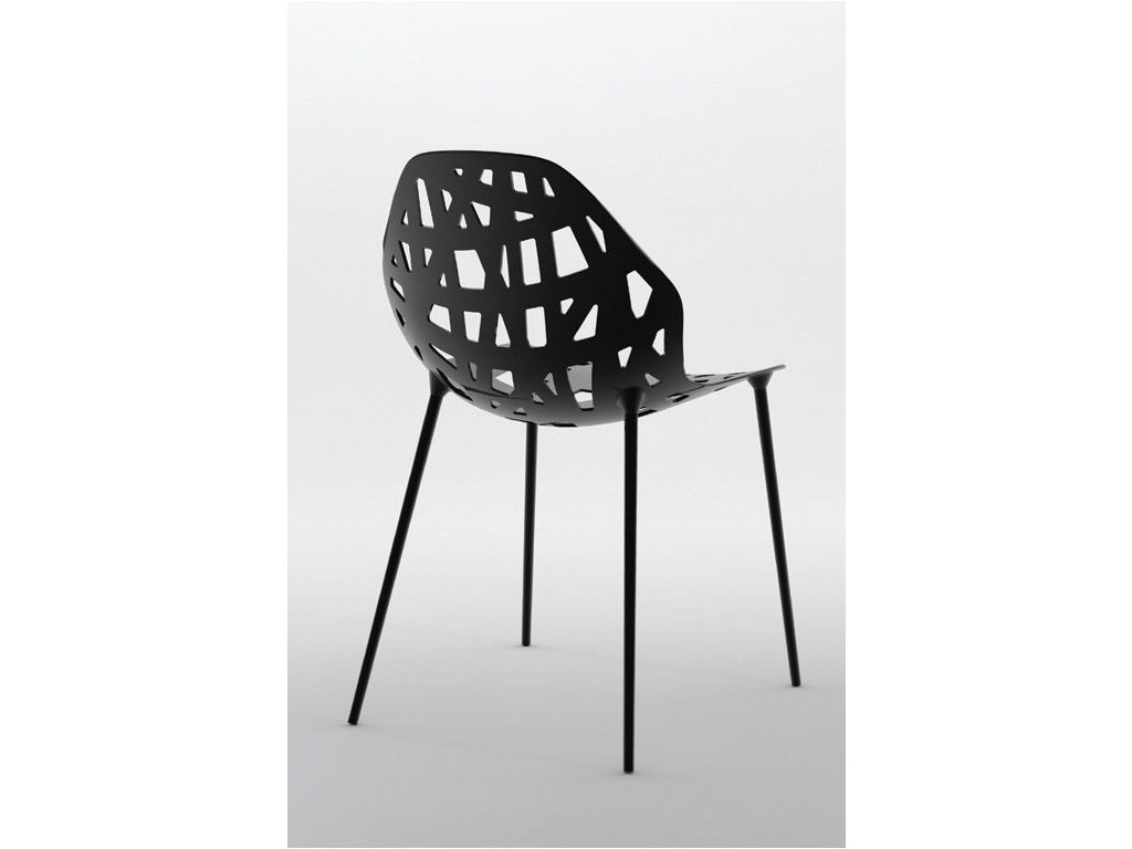 Moderní kovová židle Pelota