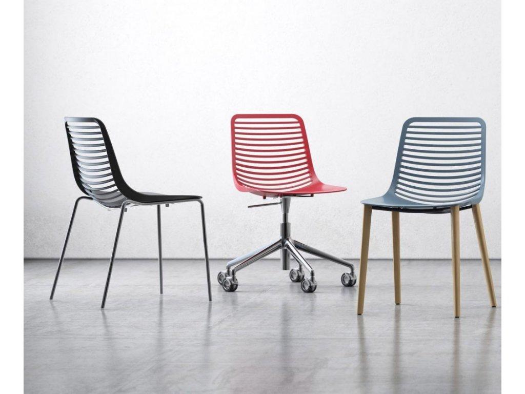 Židle Mini desk na kolečkách