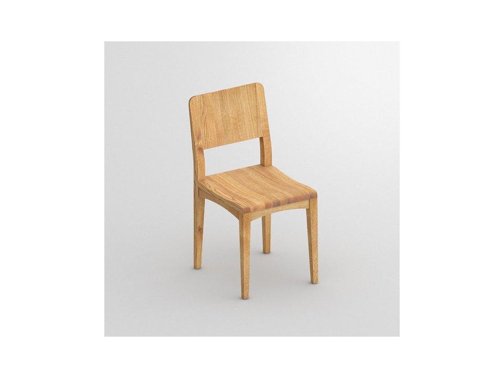 Dřevená buková židle Intus