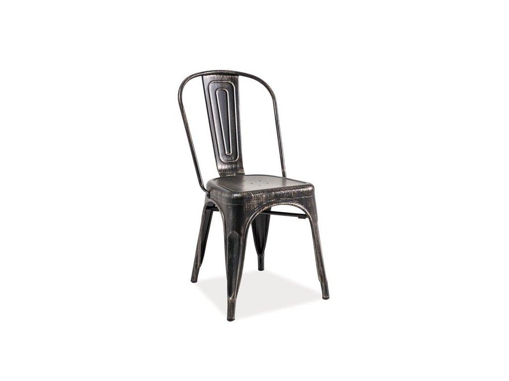 Kovová jídelní židle GS 890