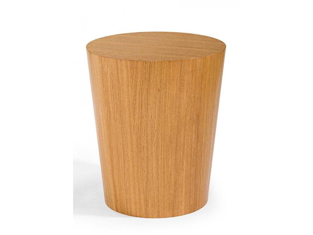 Moderní dřevěný konferenční stolek Cone pr. 50